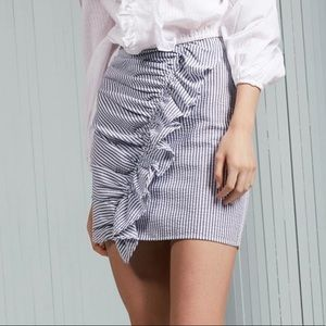 The fifth label seersucker skirt